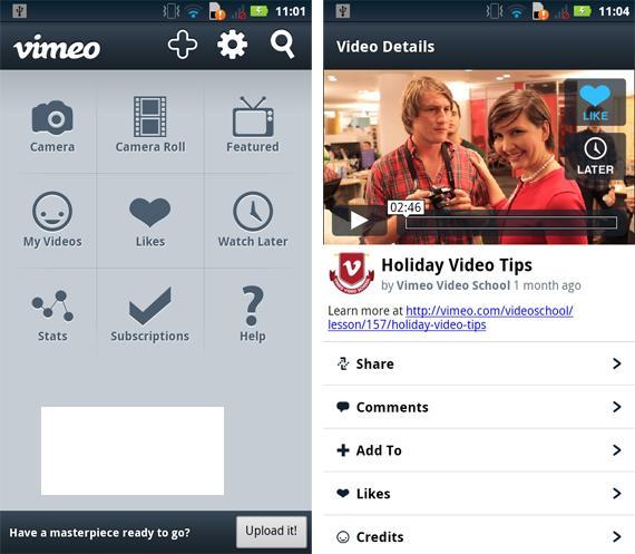 Vimeo-Androidacreenshot